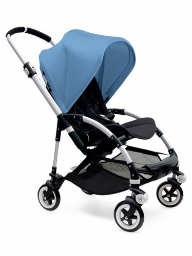 Bugaboo Bee3 Extendable Sun Canopy - Ice Blue  sc 1 st  Babyu0027s Den & Bee3 Extendable Sun Canopy - Ice Blue