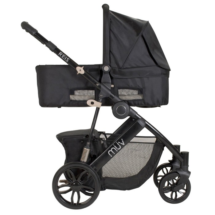 Energy Plus Kussen.Muv Reis Travel System With Kussen Car Seat And Canopy Satin Black