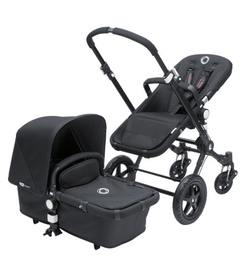 Goede Bugaboo Bee All Black Special Edition Stroller IF-91