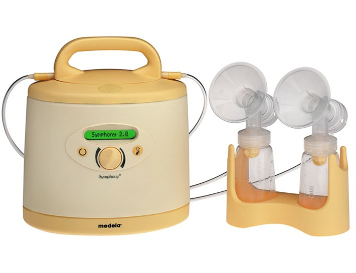 Medela Symphony Breast Pump Electric Only Yellow Breast Pumps