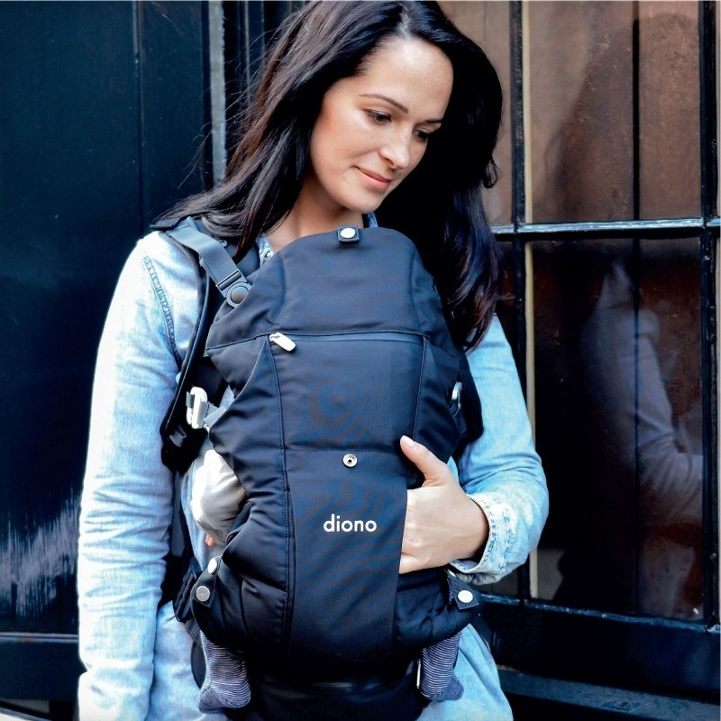 Black Diono Carus Essentials 3-in-1 carrying system