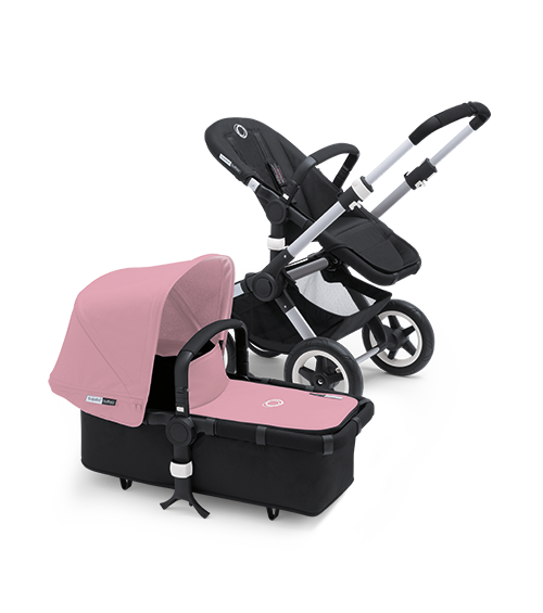 Discontinued by Manufacturer Pink Bugaboo Donkey Tailored Fabric Set Discontinued by Manufacturer