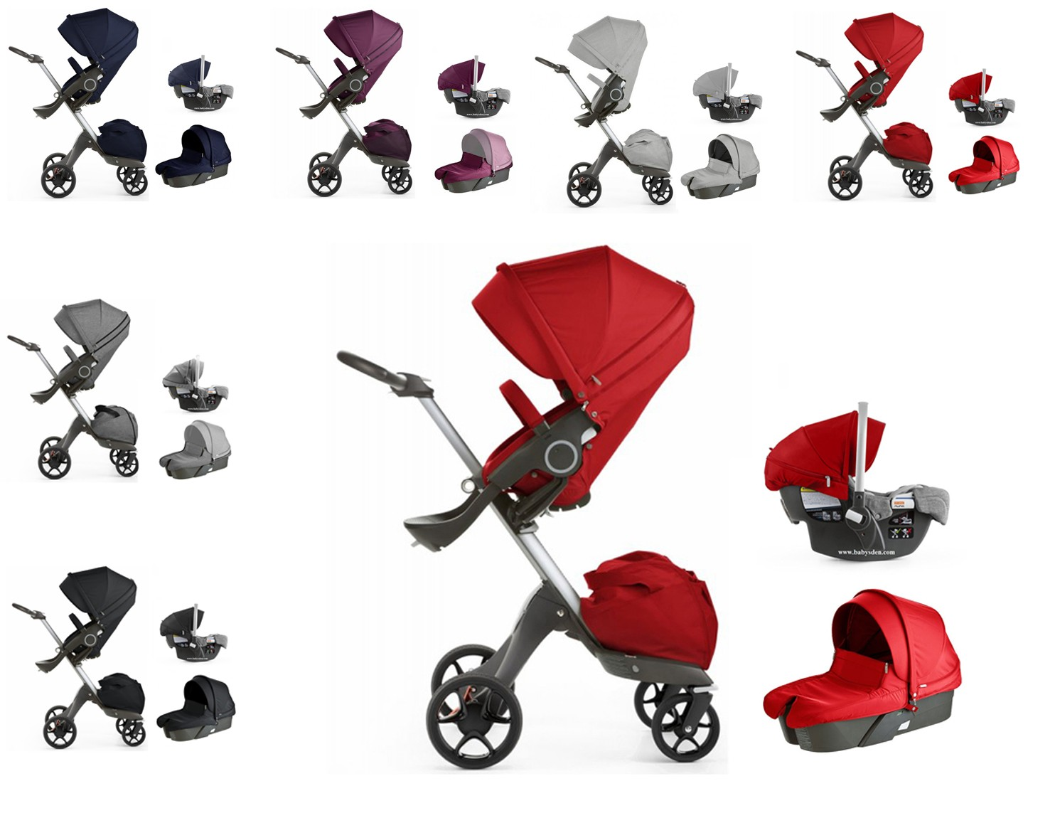Stokke Xplory V5 Stroller Travel System With Pipa Car Seat Free