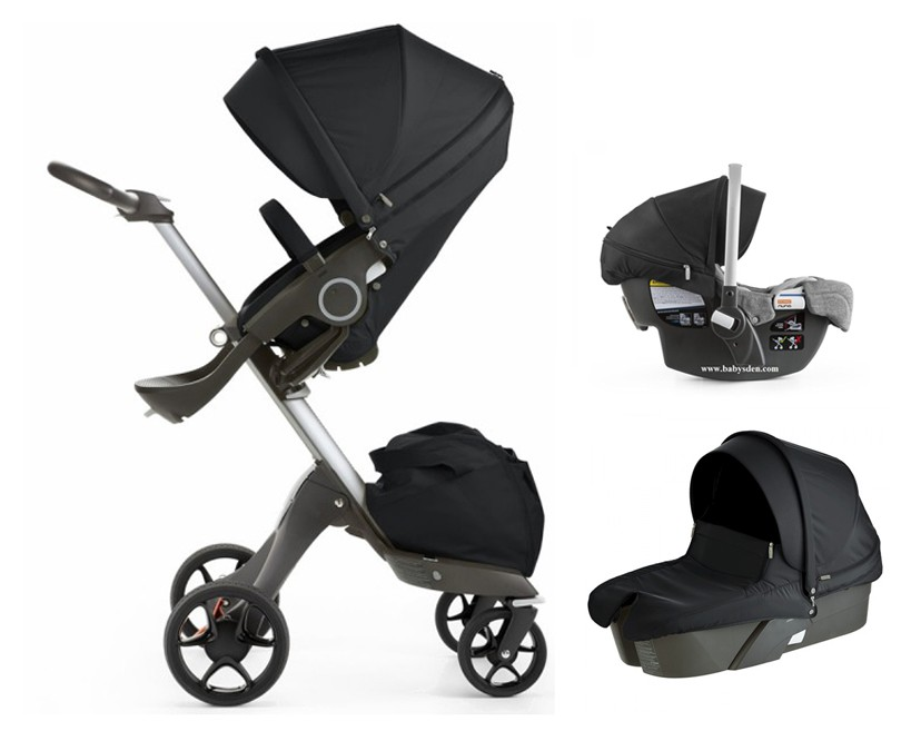 Stokke Xplory V5 Stroller Travel System 2017 with Pipa Car Seat in ...