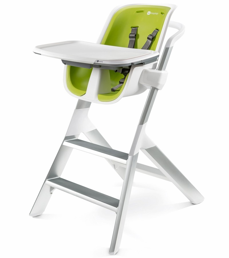 Phenomenal 4Moms High Chair White Green Pabps2019 Chair Design Images Pabps2019Com