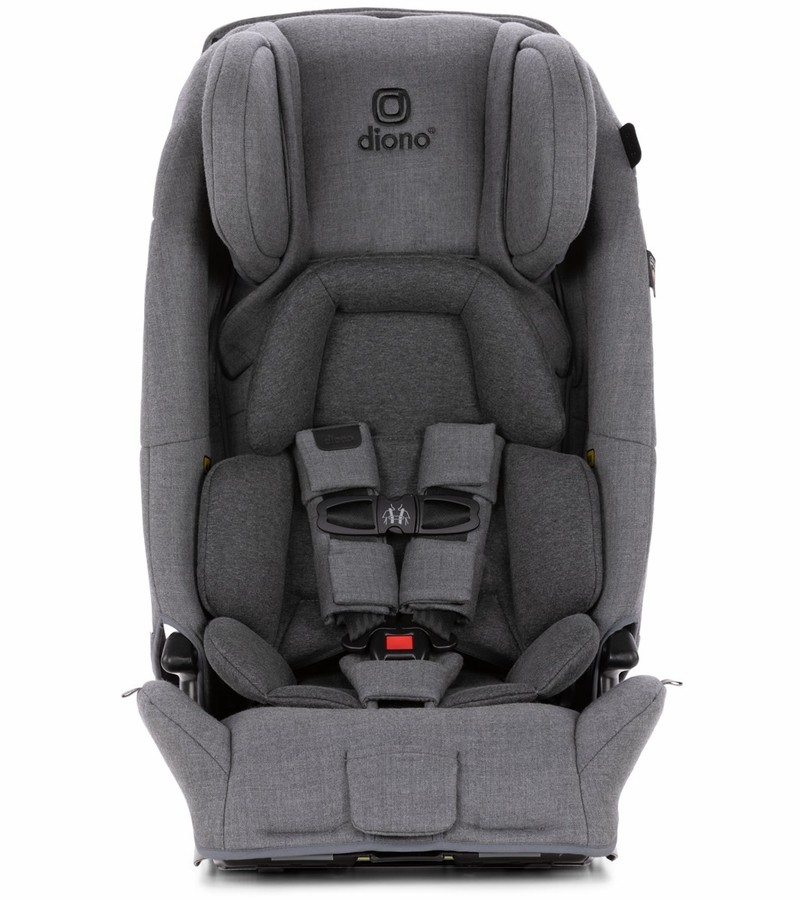Dino Car Seat >> Diono Radian 3 Rxt Latch All In One Convertible Car Seat Grey Dark Wool
