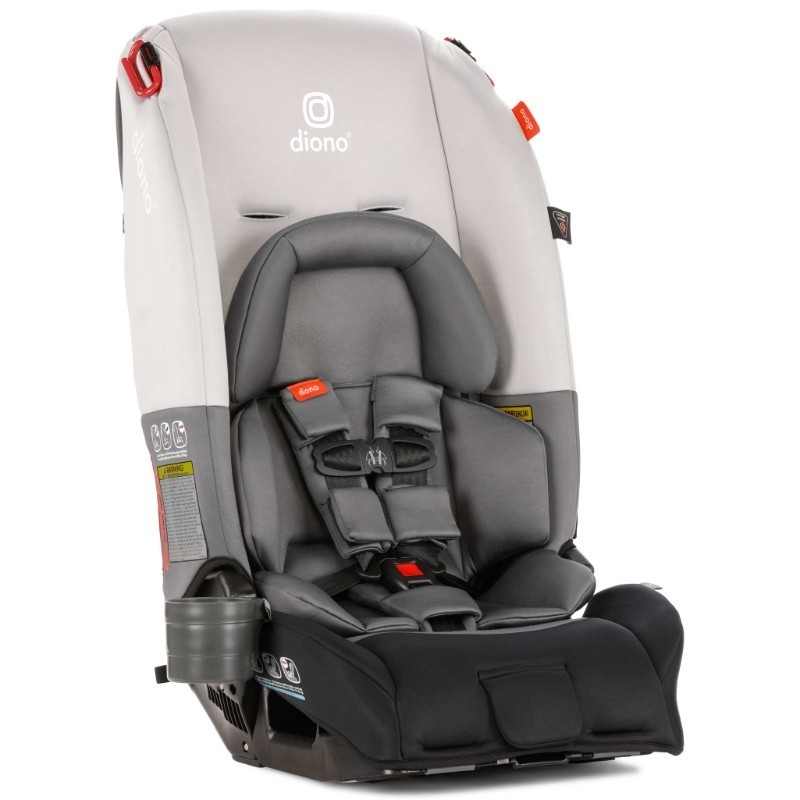 Dino Car Seat >> Diono Radian 3 Rx Latch All In One Convertible Car Seat Gray Light
