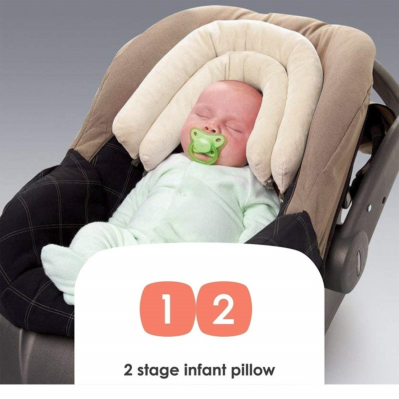Infant Pillow Head Support 2-in-1 For Children Up To 15lb Car seats Carrier