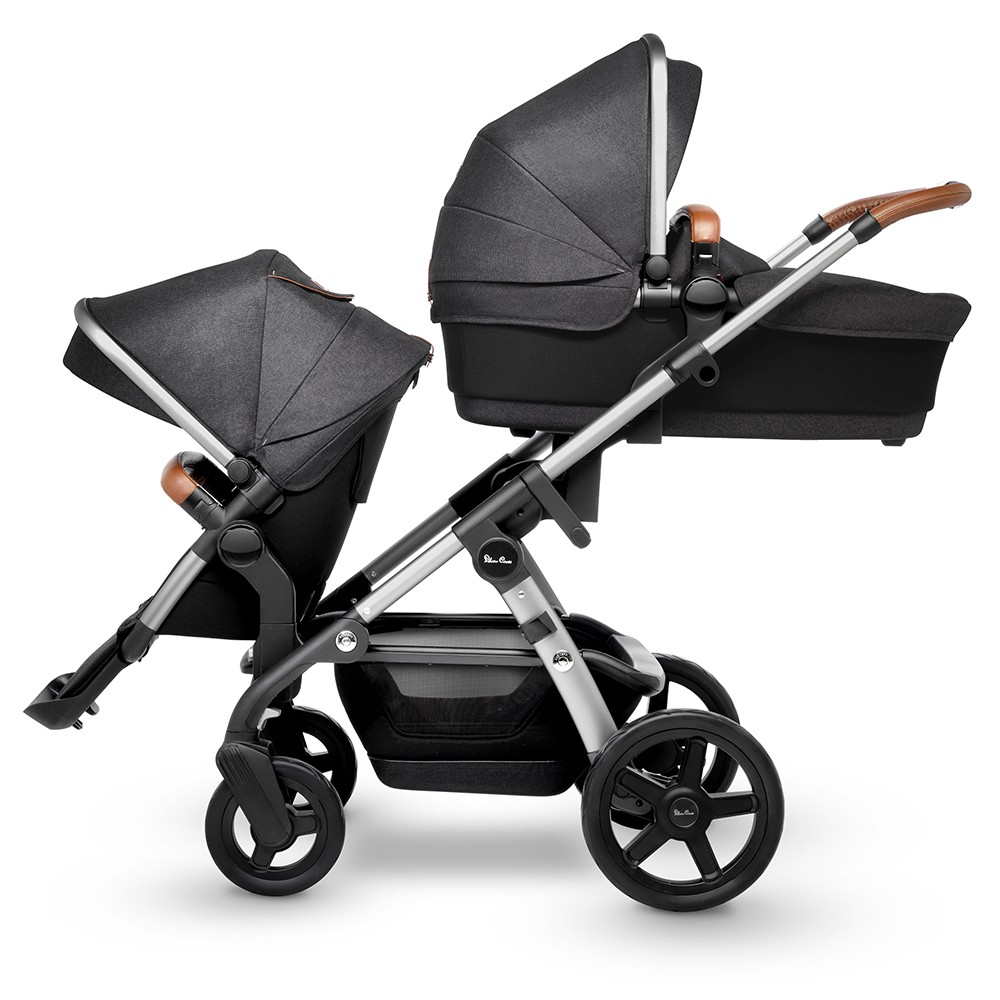 5fface2f14a Silver Cross Wave Stroller Bassinet - Granite - Free Shipping - No Tax