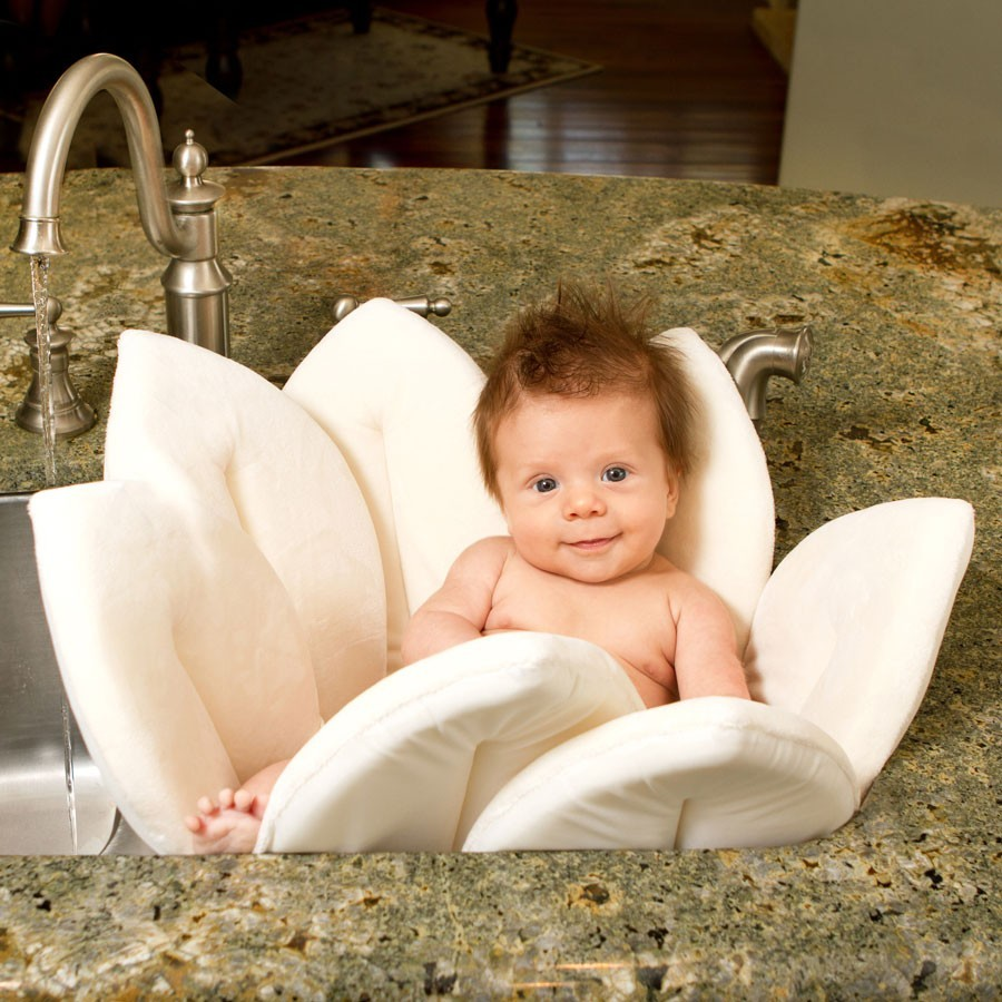Blooming Bath Baby Sink Bath - Ivory