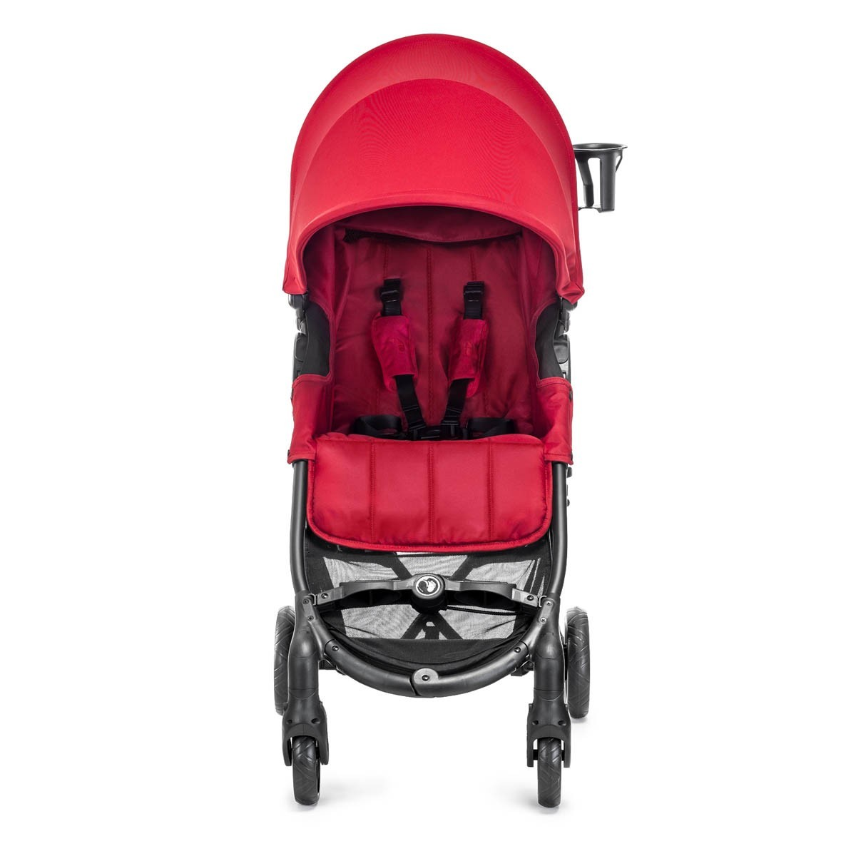 Baby Jogger City Mini Zip Super Compact Stroller Red