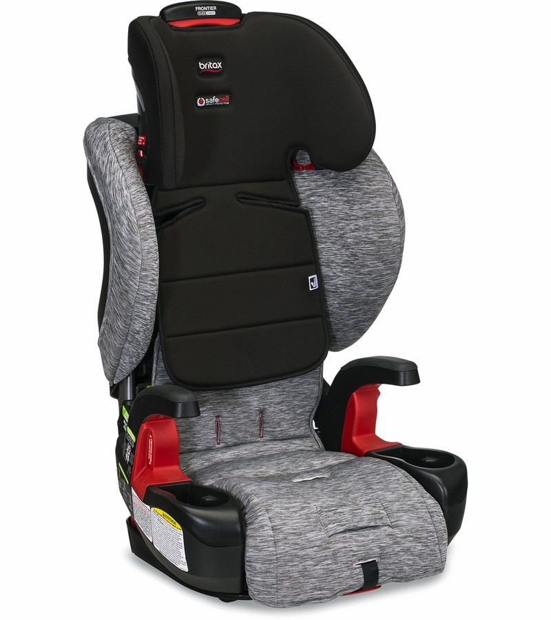 britax frontier clicktight booster car seat spark free shipping no tax. Black Bedroom Furniture Sets. Home Design Ideas