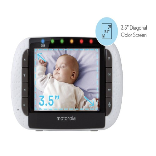 motorola mbp36 baby monitor with outdoor accessory camera and 3 5 color lcd screen. Black Bedroom Furniture Sets. Home Design Ideas