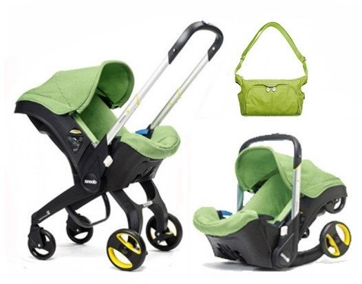 Doona Infant Car Seat With Base And Free Essentials Bag