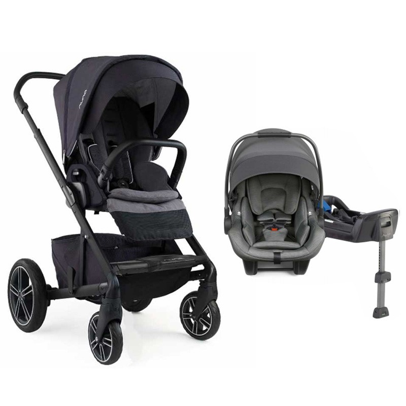 Nuna Mixx2 Stroller With Pipa Lite Infant Car Seat Travel System
