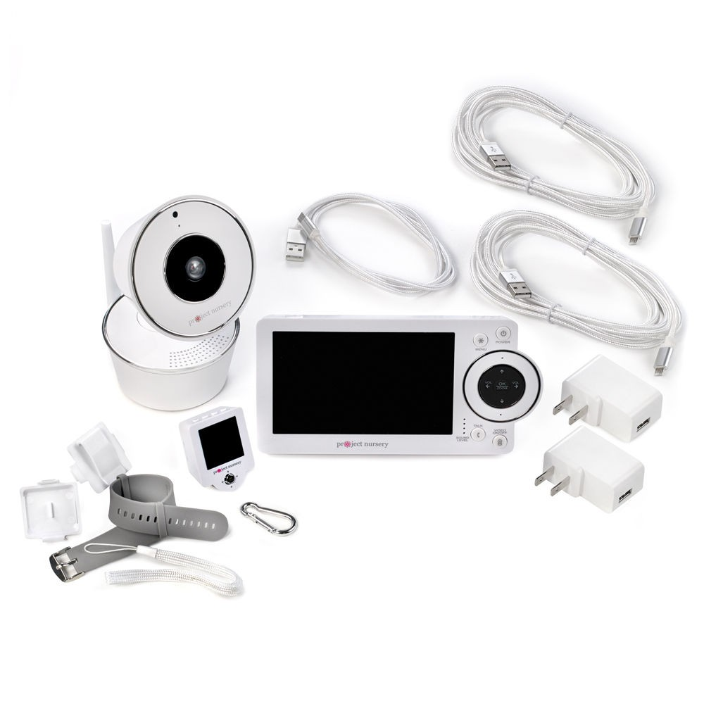 Deluxe Hd Video Baby Monitor System