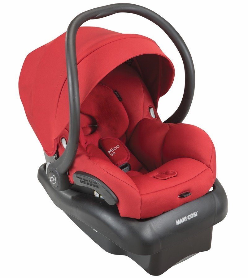 maxi cosi mico 30 infant car seat red rumor free shipping no tax. Black Bedroom Furniture Sets. Home Design Ideas