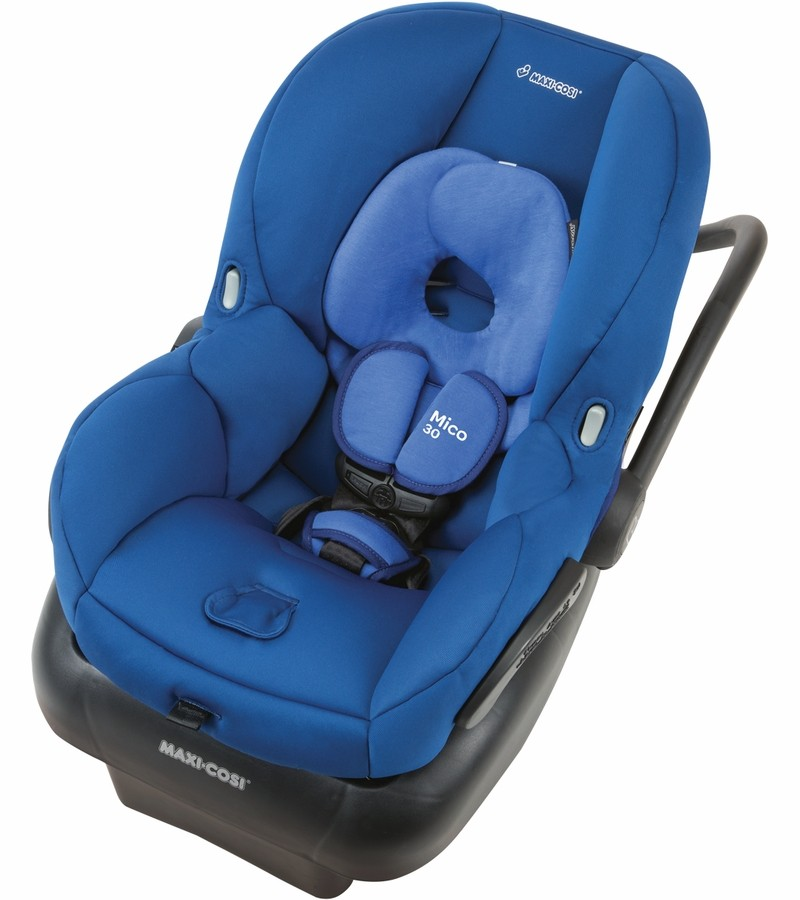 maxi cosi mico 30 infant car seat vivid blue free shipping no tax. Black Bedroom Furniture Sets. Home Design Ideas