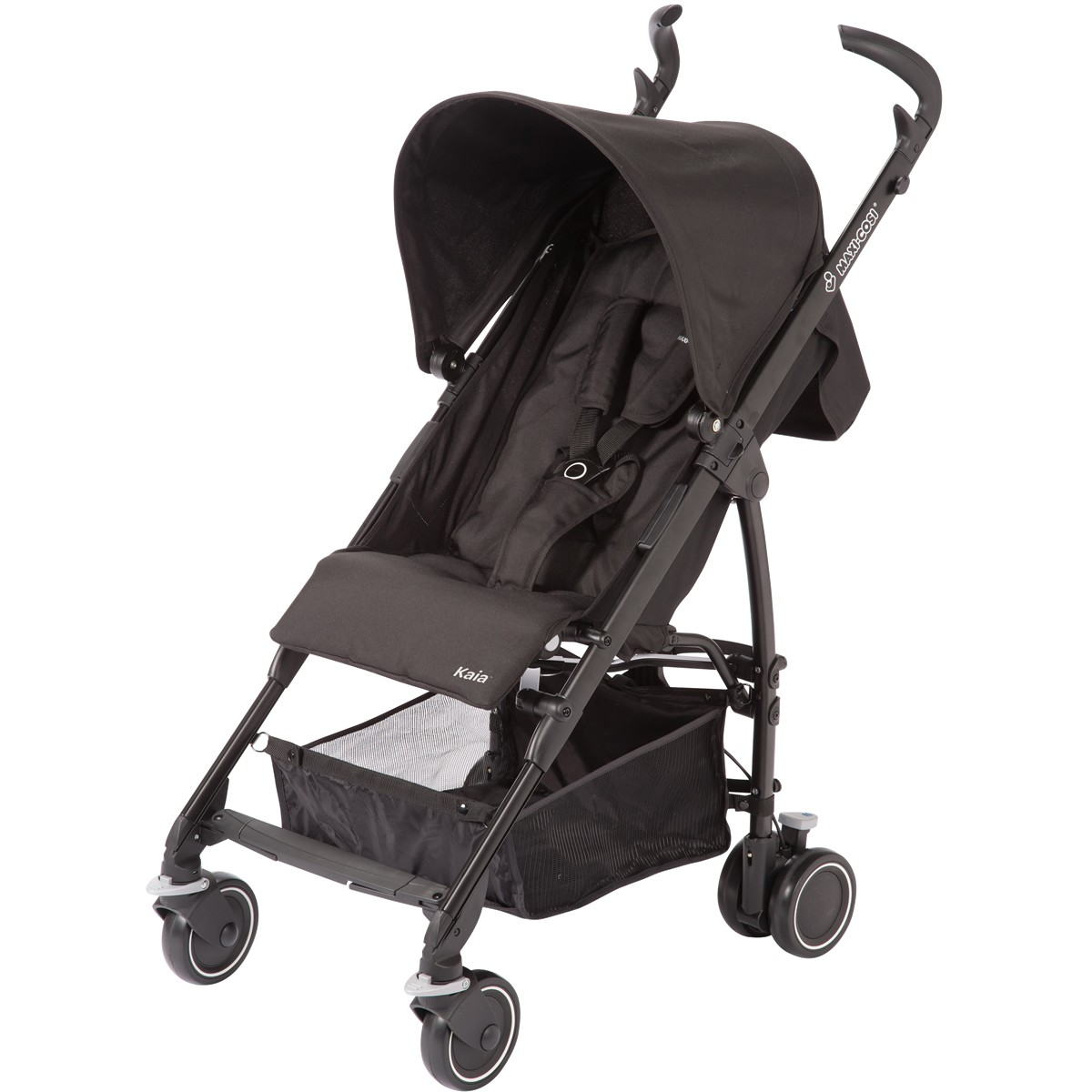 Maxi Cosi Kaia Lightweight Umbrella Stroller - Total Black ...