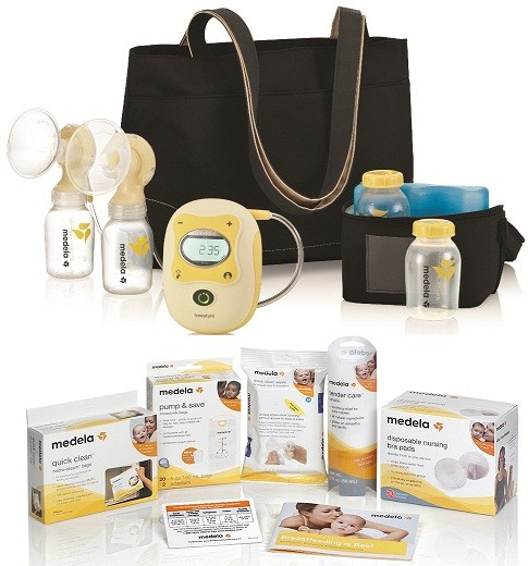 Medela Freestyle Hands Free Electric Breast Pump Solution Set