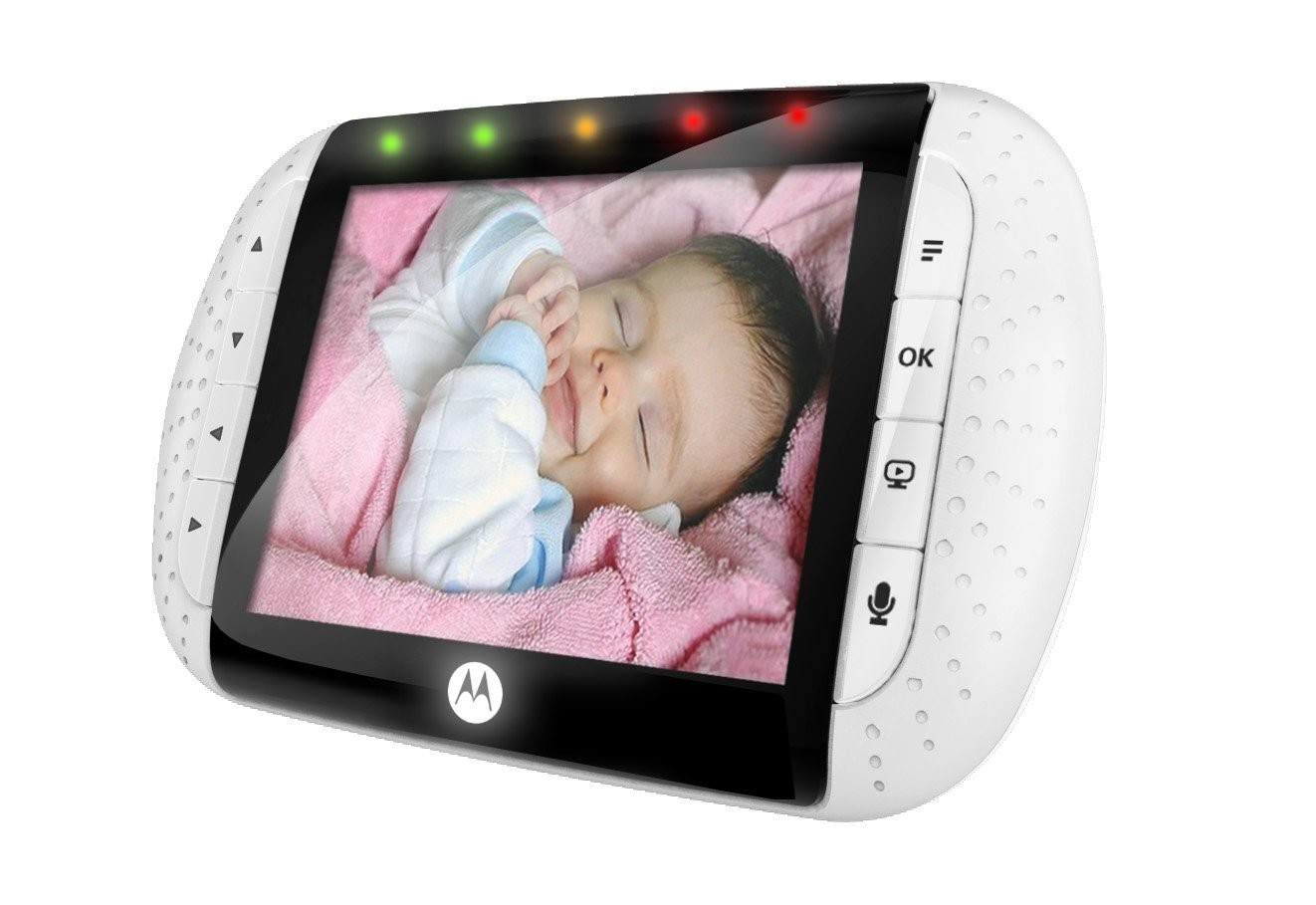 motorola mbp36 remote wireless video baby monitor with 3 5 inch color lcd screen. Black Bedroom Furniture Sets. Home Design Ideas