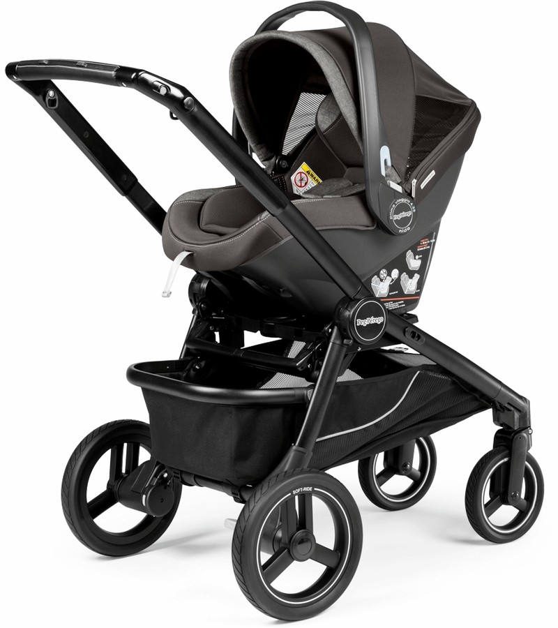 Peg Perego Primo Viaggio 4 35 Nido Infant Car Seat With Base Onyx