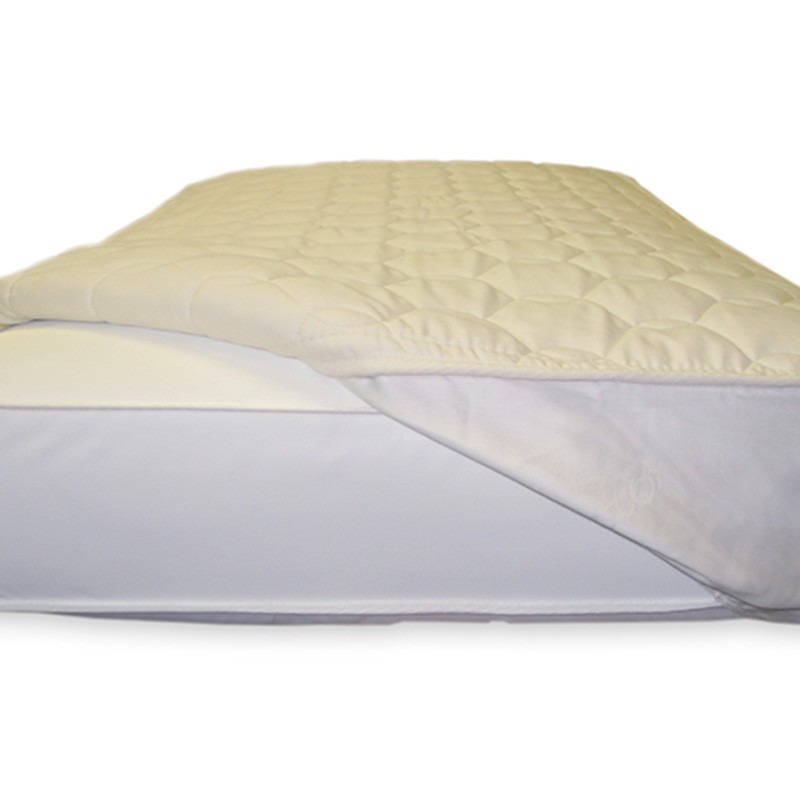 Naturepedic Non Waterproof Quilted Fitted Mattress Topper