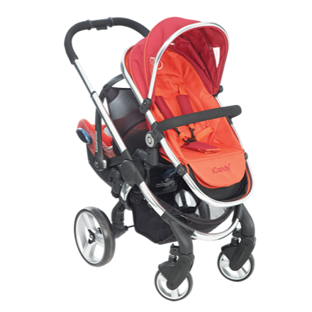 b3ceaedcd0fd iCandy Peach Blossom Stroller with Second Seat and Attachment - Tomato · iCandy  Peach Blossom Stroller ...