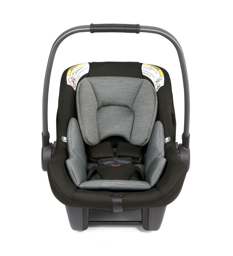 Nuna Pipa USA Lightest Infant Ebony Black Car Seat With Base