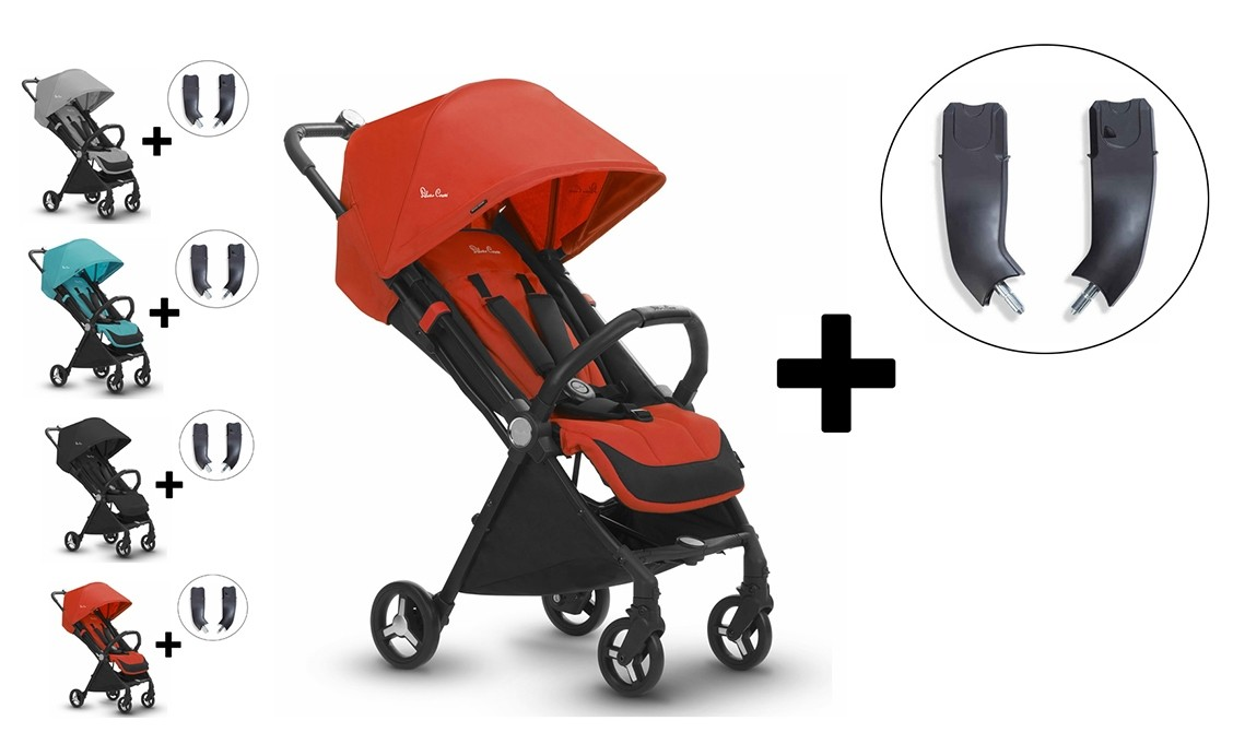 Silver Cross Jet Stroller And Car Seat Adapter Set