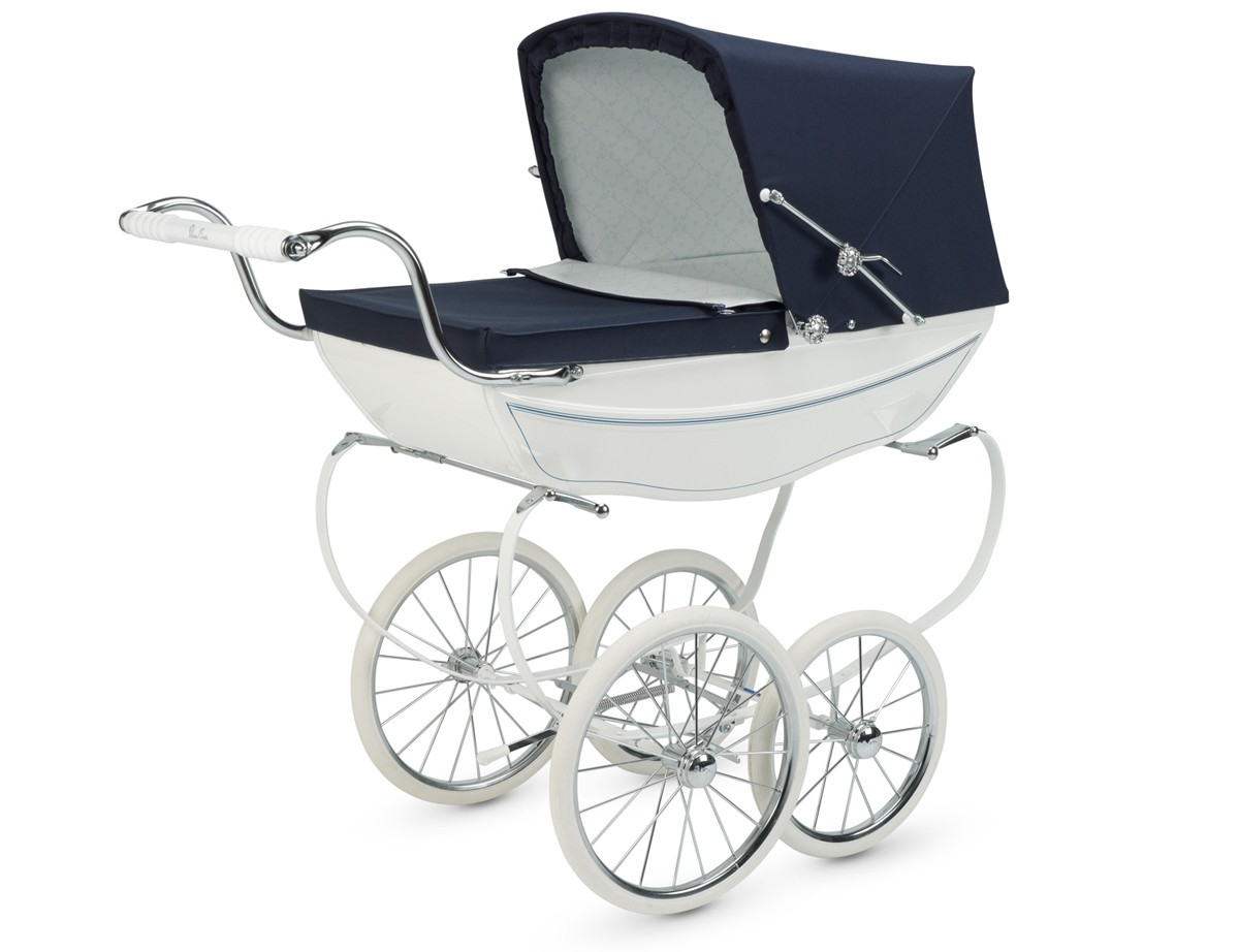 Silver Cross Oberon Hand Crafted Doll Pram Stroller Pre