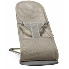 BabyBjorn Bouncer Bliss, Mesh - Greige (Beige Grey)