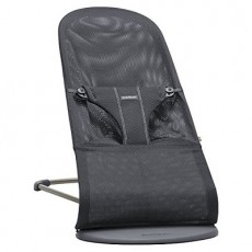 BabyBjorn Bouncer Bliss, Mesh - Anthracite (Slate Grey)