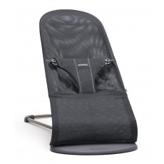 BabyBjorn Fabric Seat for Bouncer Bliss - Mesh - Anthracite (Slate Grey)