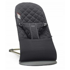 BabyBjorn Fabric Seat for Bouncer Bliss - Quilted Cotton - Black