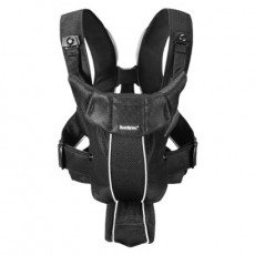 Baby Bjorn Baby Carrier Active Black, Mesh