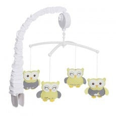 HALO Bassinest Musical Mobile Sleepy Owl
