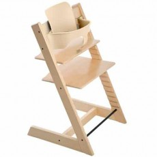 Stokke Tripp Trapp Baby High Chair & Baby Set - Natural