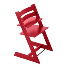 Stokke Tripp Trapp Chair Red