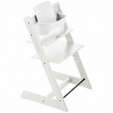 Stokke Tripp Trapp Baby High Chair & Baby Set - White