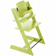 Stokke Tripp Trapp Baby High Chair & Baby Set - Green