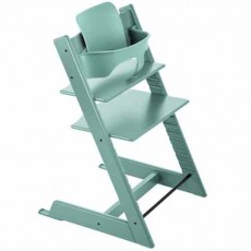 Stokke Tripp Trapp Baby High Chair & Baby Set - Aqua Blue