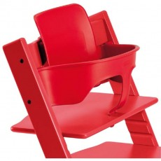 Stokke Tripp Trapp High Chair Babyset in Red