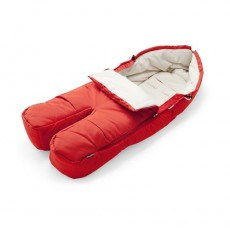 Stokke Xplory Footmuff Red