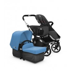 Bugaboo Donkey Tailored Fabric Set Extendable Sun Canopy Ice Blue