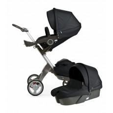 Stokke Xplory V4 Stroller Newborn Package - Black
