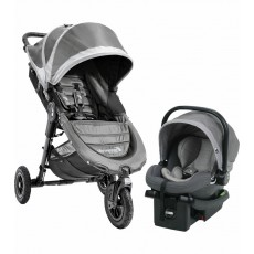 2017 Baby Jogger City Mini GT Travel System - Steel Grey