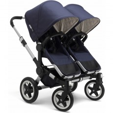 Bugaboo Donkey Classic Plus Twin Stroller Complete - Navy