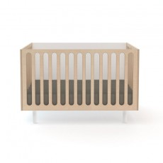 Oeuf Fawn Crib and Bassinet System - White/Birch