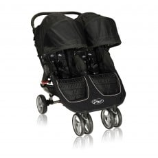 Baby Jogger City Mini Lightweight Easy Fold Double Stroller Black/Gray